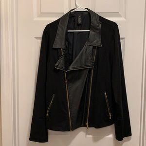 Lane Bryant jacket with gold detail